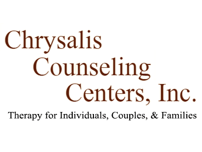 Chrysalis Counseling Centers, Inc. Therapy for Individuals, Couples, and Families