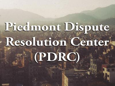 Piedmont Dispute Resolution Center Mental Health Association of Fauquier